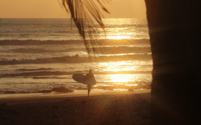 Picture Saturday: Riding the last wave of the day by starsurfcamps frankreich
