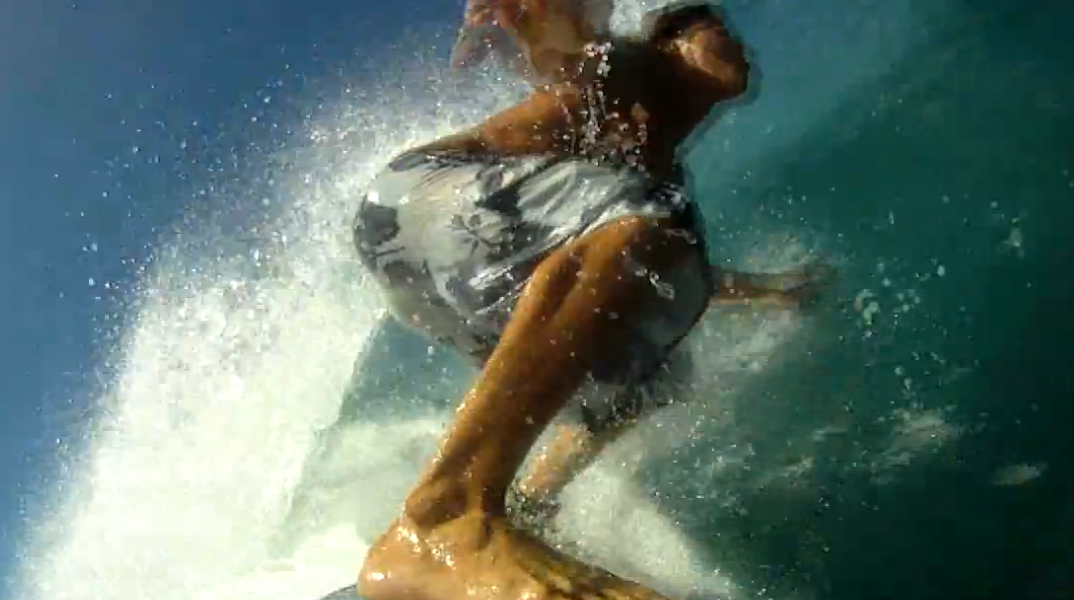 Kalani Robb GoPro HD Slo Mo Barrel – Wellenreiten @ North Shore Oahu, Hawaii