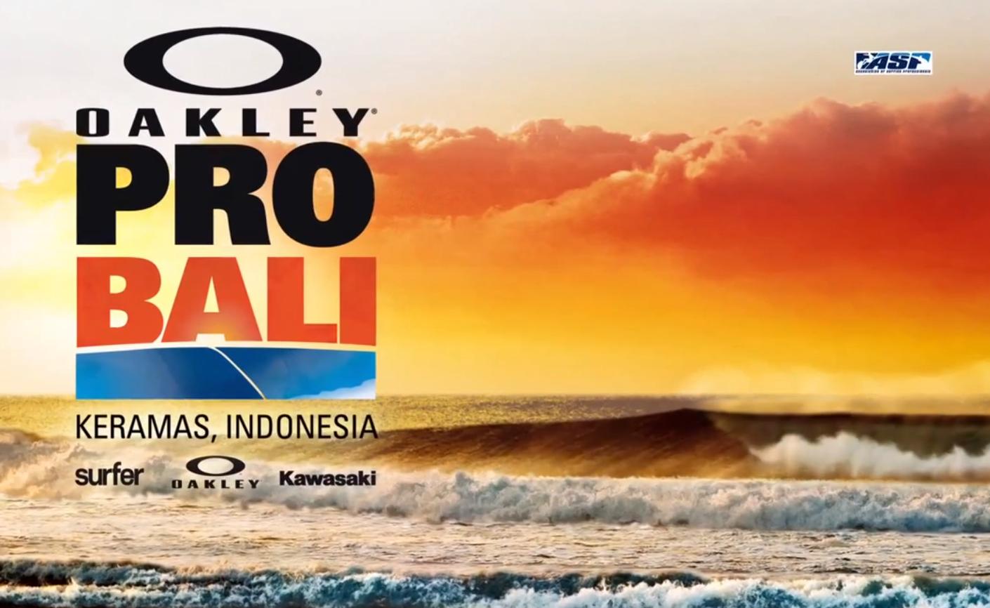 Ein Ausflug nach Bali mit den Highlights des Oakley Pro Bali Day 8