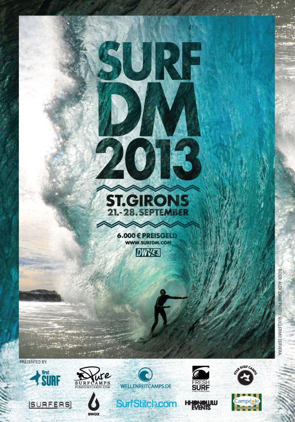 Surfen-Frankreich-Surf-DM-2013-flyer