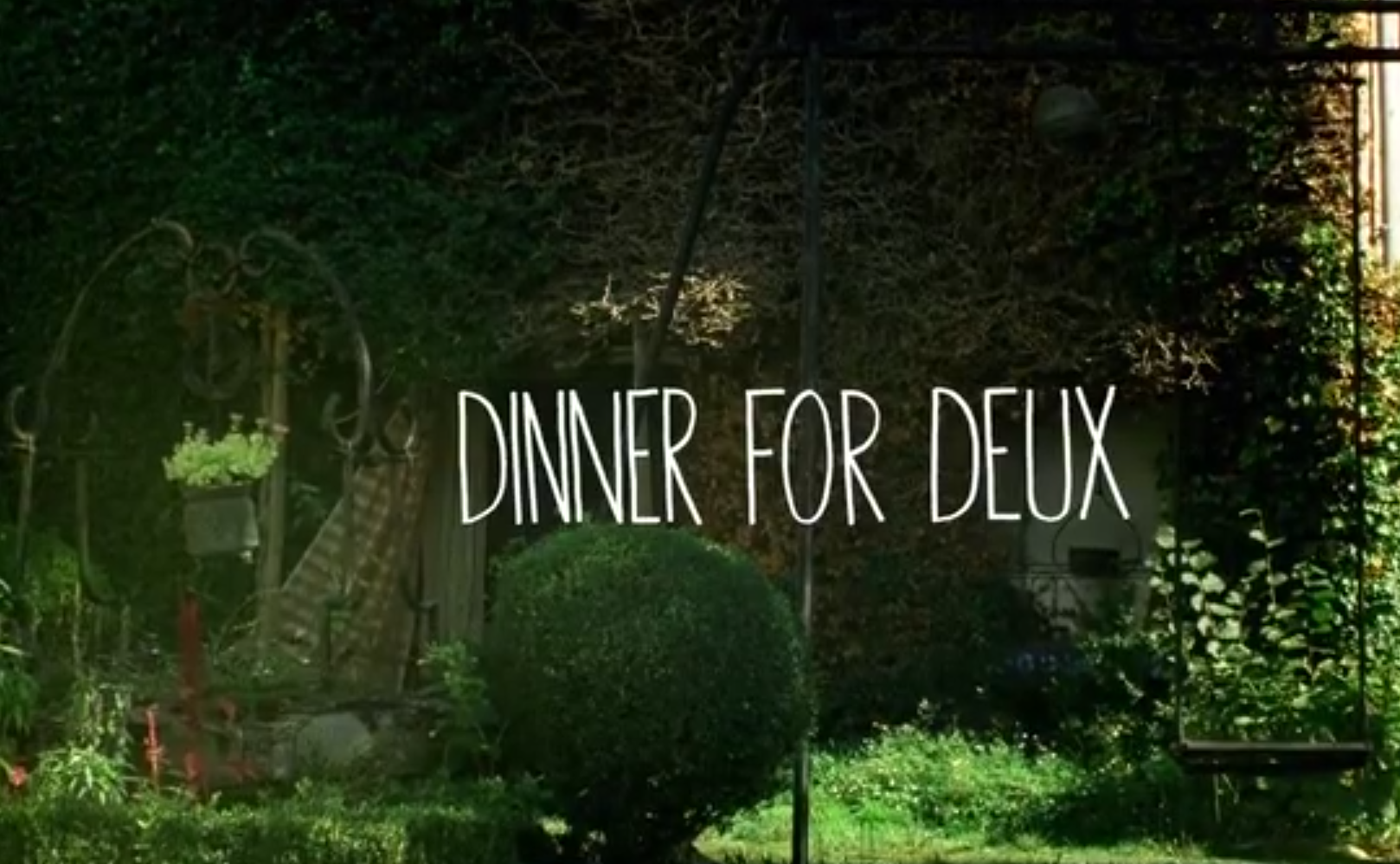 Dinner For Deux – A Short Film with Dane Reynolds & Craig Anderson