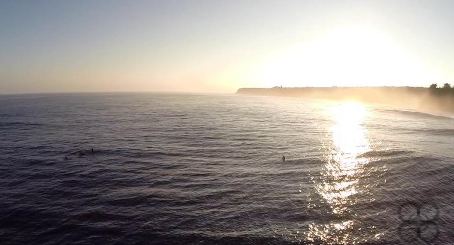 Ausflug nach Hawaii: Luftaufnahmen von Jaws
